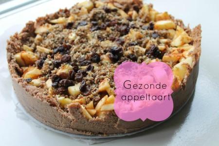 gezondere Appeltaart suikervrij lactosevrij glutenvrij