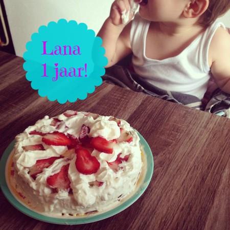 Lana 1 jaar
