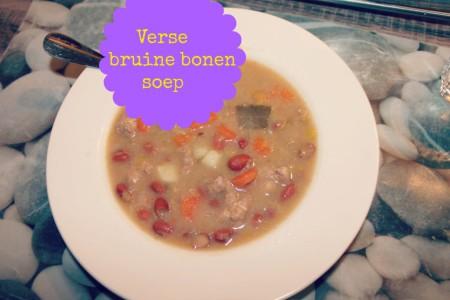 Recept Bruine bonensoep