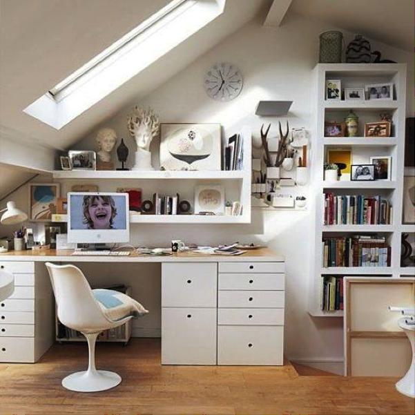 Interieur inspiratie heel klein luxe wonen op een zolder for Kamer leuk inrichten