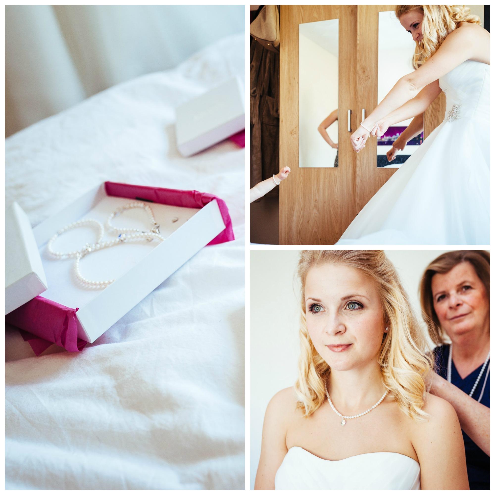 Sieraden Op De Bruiloft Van Mij En Mijn Dochter