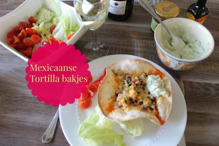 Mexicaanse Tortilla bakjes