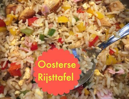 Recept Oosterse Rijsttafel