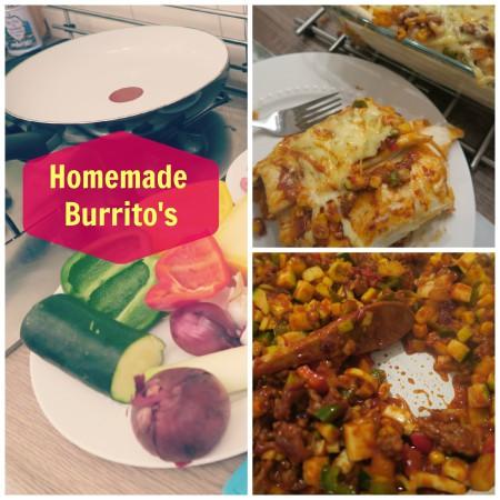 Recept Burrito's