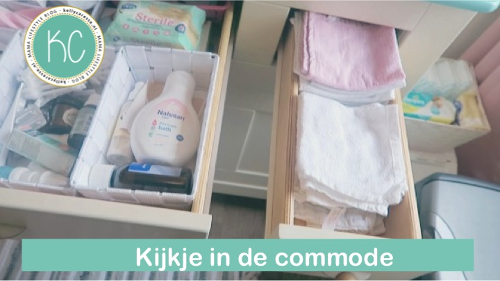 Kleine Babykamer Inrichten : Wat zit er in de commode op de babykamer