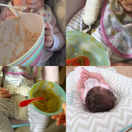 hoeveel voeding baby 6 weken