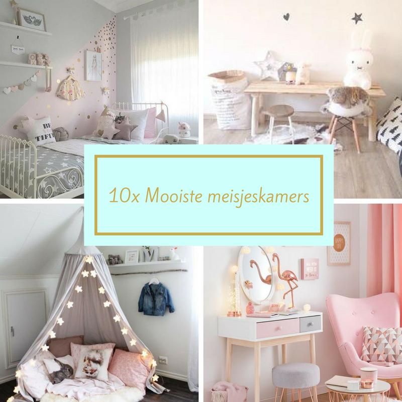 10x mooiste meisjeskamer inspiratie for Decoratie peuterkamer