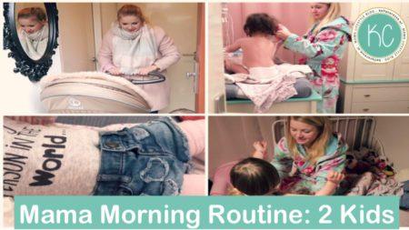 Ochtend Routine met twee kinderen