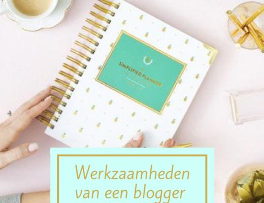 werkzaamheden blogger