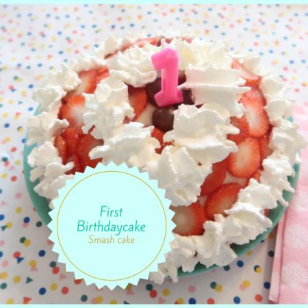 eerste verjaardagstaart