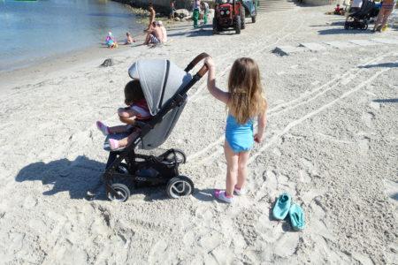 easy walker kinderwagen grijs