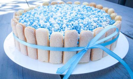 babyshower taart maken Recept: Gender reveal taart babyshower taart maken