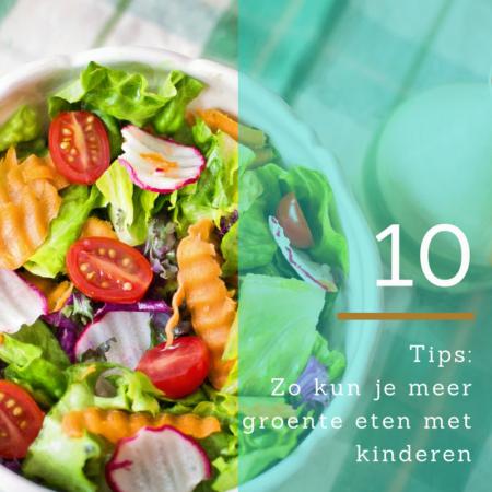 meer groente eten met kinderen