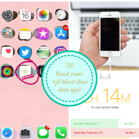 smartphone gebruik vermindert