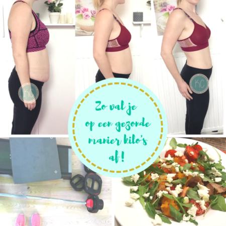 Afvallen na de zwangerschap, mijn verhaal!