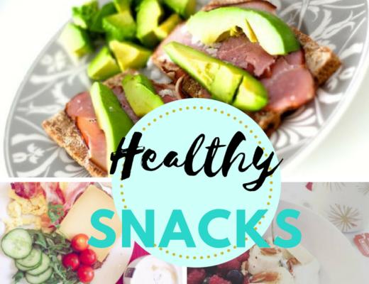 gezonde snacks om zelf te maken