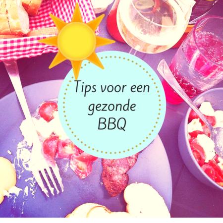 Tips voor een gezonde barbecue