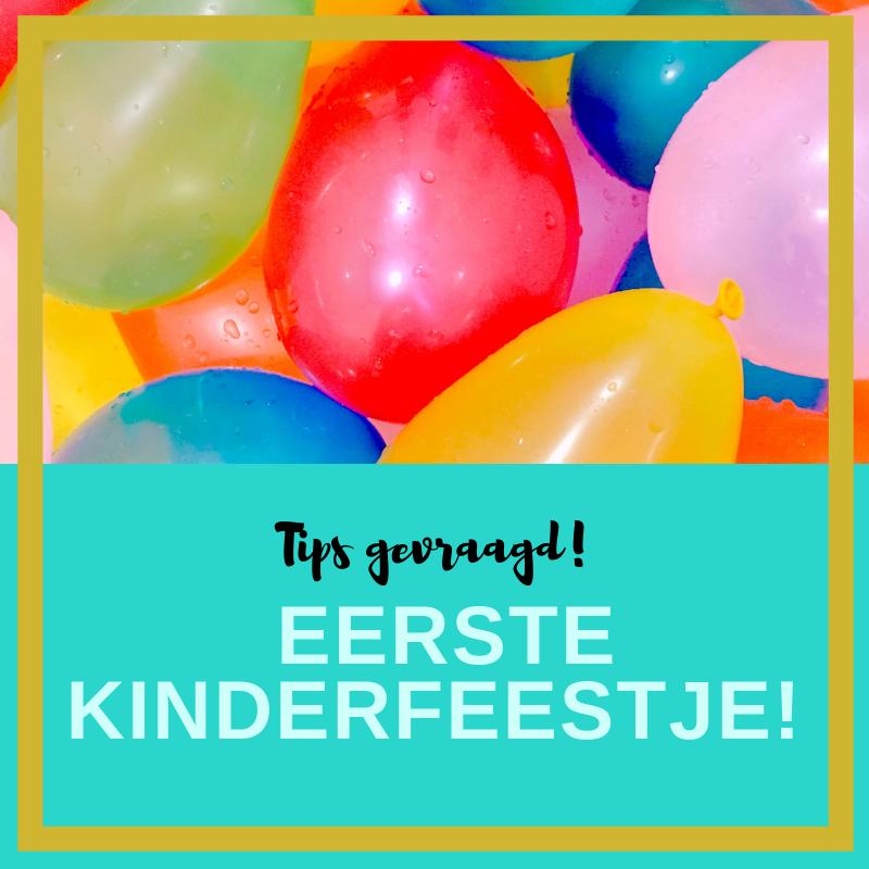 Goede Het eerste kinderfeestje... Tips gevraagd! - Kelly Caresse JN-34
