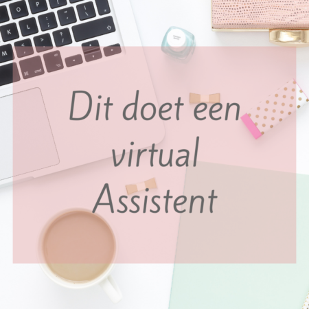 virtual assistent werk