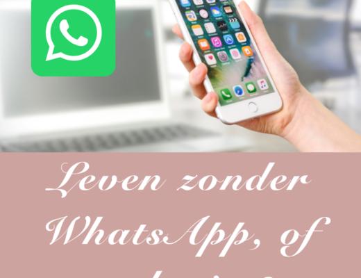 Leven zonder WhatsApp, stoppen met WhatsApp, Kelly Caresse,