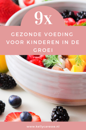 Gezonde voeding kinderen in de groei