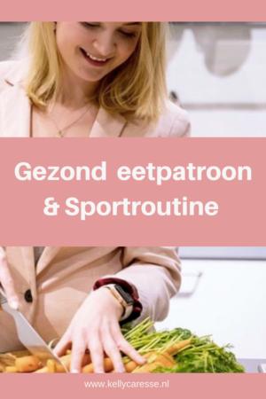Gezond eetpatroon en sportroutine
