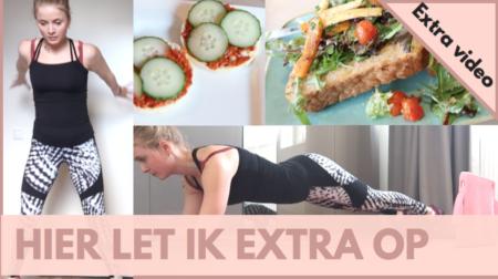 Eetdagboek vlog, eetdagboek video, Kelly Caresse