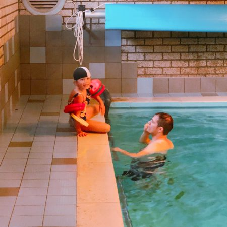 Nieuwe fase: Zwemles